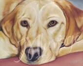 "Fine Art Giclee 8x10 Print of Original Painting ""Carson"""