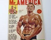 Vintage Mr. AMERICA Magazine May 1962 Vol 4 No. 12