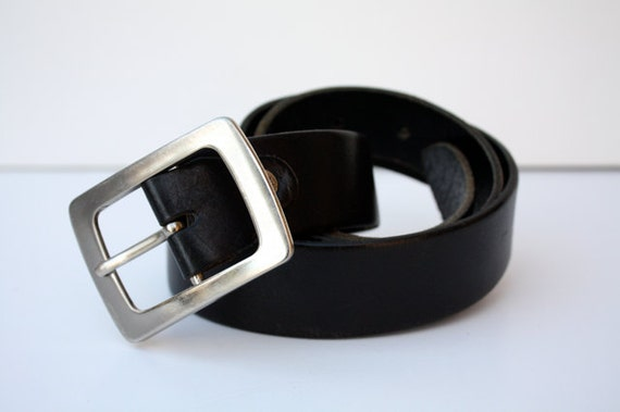 Vintage Unisex Leather Belt