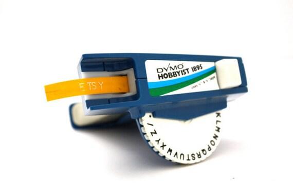 Vintage BLUE Dymo Label Maker