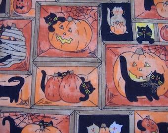 One Yard Cotton Halloween Fabric