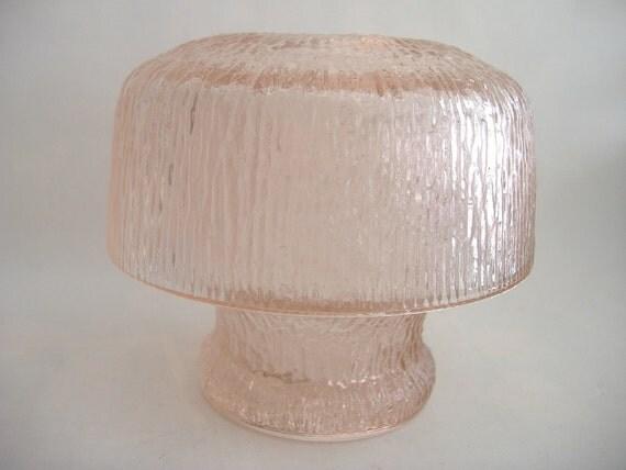 Pink Mushroom Fairy Lamp