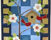 Spring in Bloom Quilted Wall Hanging