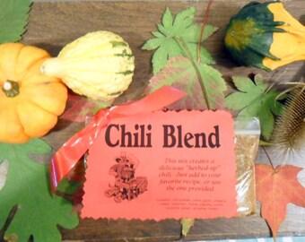 Chili Seasoning Blend, Herb Mix, Soup Mix, not too hot