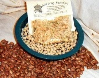 Bean Soup Seasoning Herb Mix, Hand-blended salt-free, dry Cooking Mix
