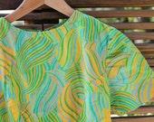 60s dress mod psychedelic - Triangle Vintage on etsy
