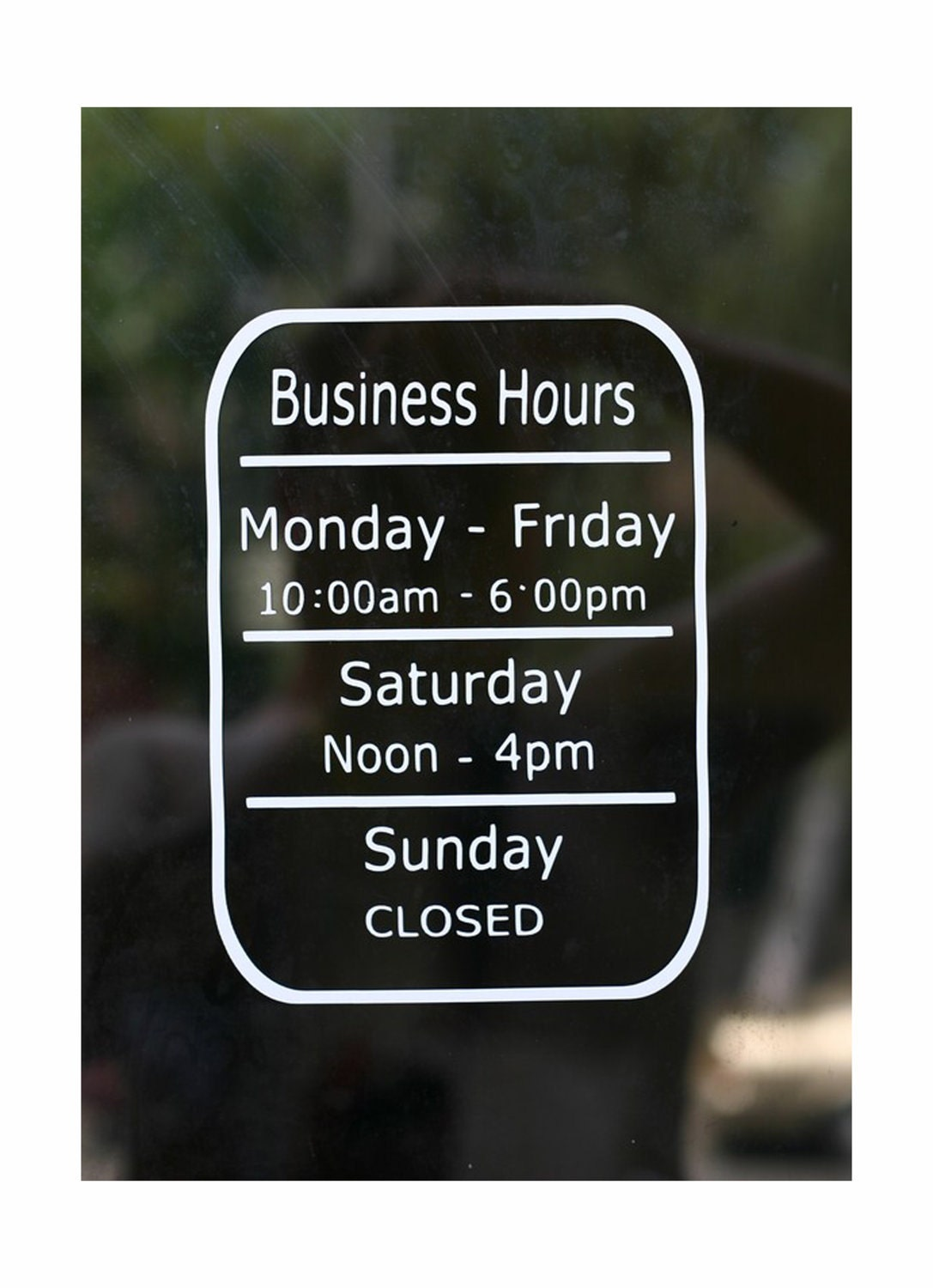 Business Hours Store Hours Open Hours Closed Hours