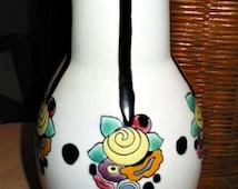 Amazing Mint Antique ART DECO Rare Early BOCH Keramis Vase 488  Pottery of 1920