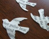 300 Confetti Romance Novel Birds FREE SHIPPING