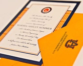 Traditional Graduation Announcements - College, Universities, Class of 2016, Invitations, Military, High School, Auburn