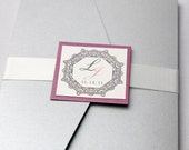 Simply Stated with Style - Pocket Invitation