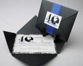40 and Fabulous  - Pochette Birthday Invitations