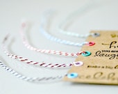 Kraft Paper Tags with Baker's Twine x 10