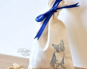 Boston Terrier - Eco Friendly Ribbon bag