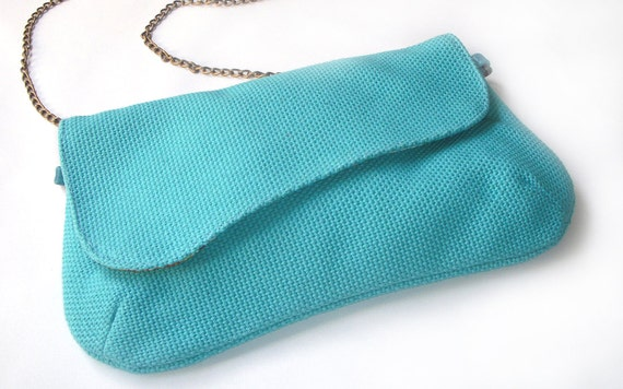 Clutch  wings Purse -Summer 2011- with comfort and style - Handmade.