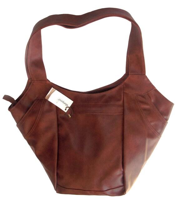 Butterfly Brown bag, shoulder bag, faux leather,tote bag, handbag, 33% OFF, brown handbag