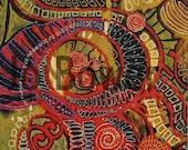 Spirals a Giclee Print - of an original painting of modern celtic art