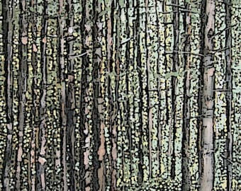 Print Black Forest Germany From Original Painting