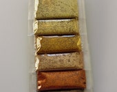 Superfine Craft Glitter - 6 Count Package in Shades of Gold, Bronze and Brown