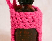 Dropper Bottle Cozy - 2 oz size - Hot Pink