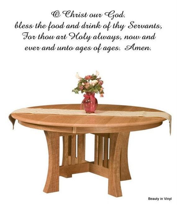 food bless god drink thy servants christ revisit later favorites