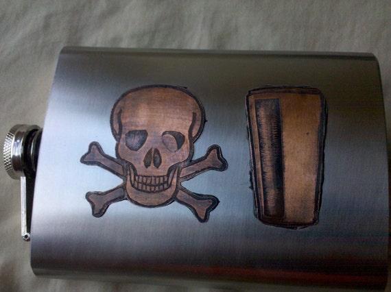 Custom 8oz Flask