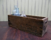Rustic Wooden Cheese Box