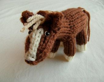Harrison the Horse PDF Knitting pattern
