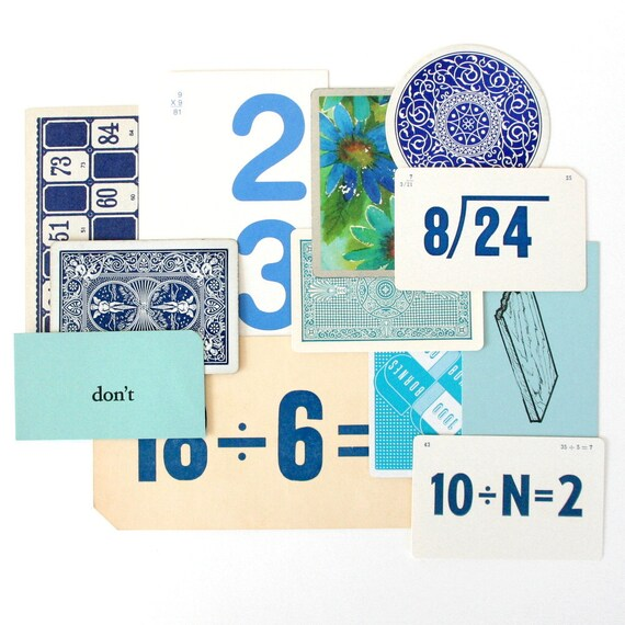SALE - Blue Card Collection - Set of 12