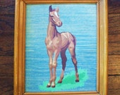 sweet paint by numbers pony painting