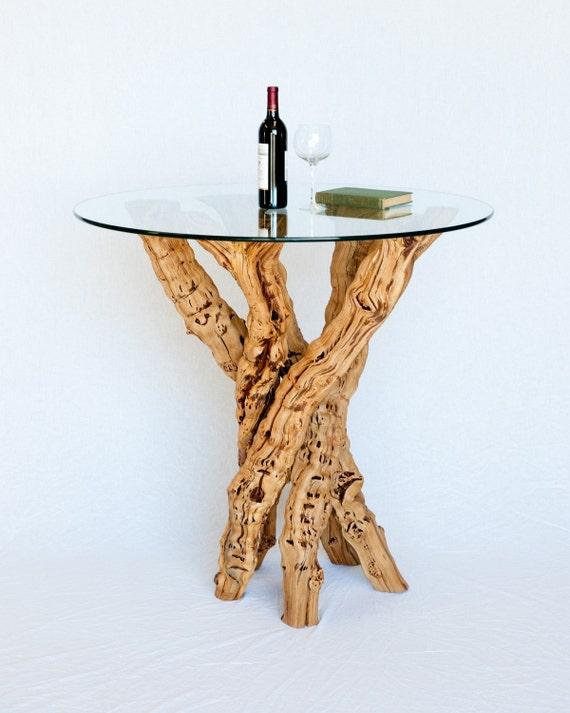"VINYA - ""Optima"" - Old Vine Grapevine Pub or Wine Tasting Table - 100% Recycled"
