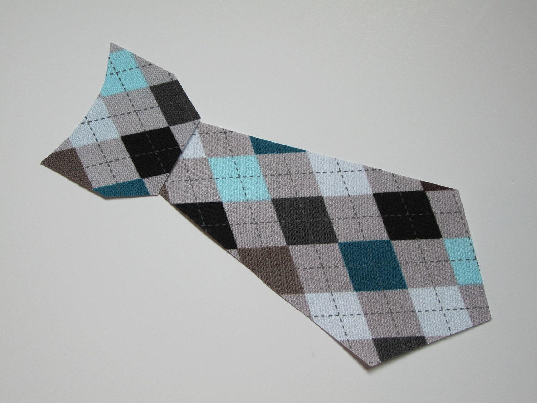 toddler gray argyle iron on tie applique. Black Bedroom Furniture Sets. Home Design Ideas