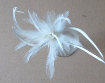 Hackle and Biot Arrangement - White