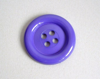 Sale Extra Large Button - Purple was 3.00 now 1.50