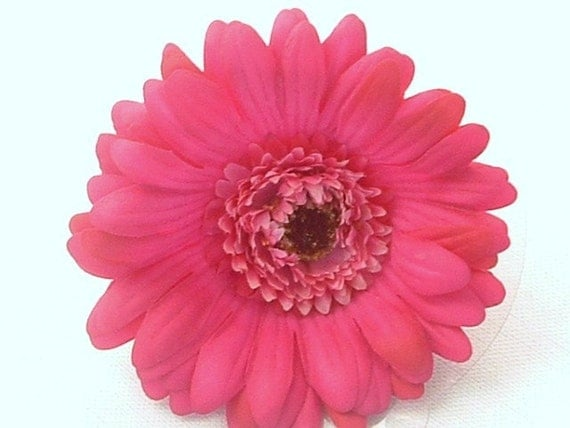 oOo FREE SHIPPING oOo Large Pink Double Daisy