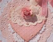 Shabby Chic-Best Wishes-Wedding-Shower-Baby Girl Card