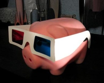 3-D Anaglyph glasses