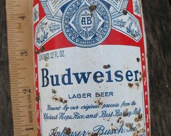 Vintage Budwiser Can