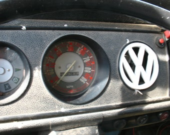 VW Bus KPH sticker speedometer converter