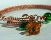 Autumn Viking Weave Bracelet