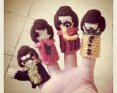 The Beatles Finger Puppets // Crochet