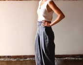 RESERVED FOR SAMIBOYLE TILL 8/17 vintage 80s high waisted gray Z Cavaricci pants