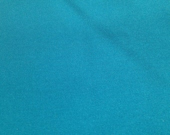 """58"""" Wide 2 Yards Blue Light weight strech synthetic fabric clothing material"""