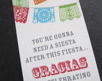Fiesta Favor Tags-INSTANT DOWNLOAD