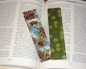 Asian Print Bookmarks Set of 2