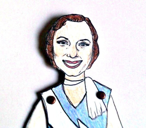 Debbie Reynolds Articulated Paper Doll - Singing In the Rain