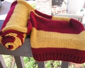 The Harry Potter Collection-  Gryffindor Long Scarf- Made to Order