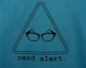 Nerd Alert Shirt WOMEN'S Sizes