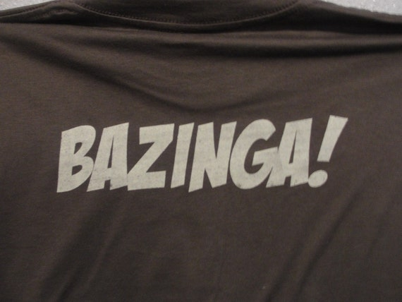 Rubber and Glue Sheldon Shirt With BAZINGA