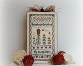 Summer Garden Ladybugs Country Home Decor